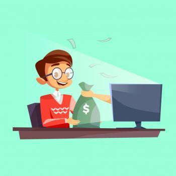 mies voittaa nettikasinolla rahaa